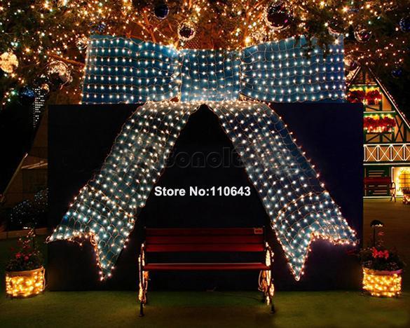 Праздничная гирлянда 100 LED, белый свет