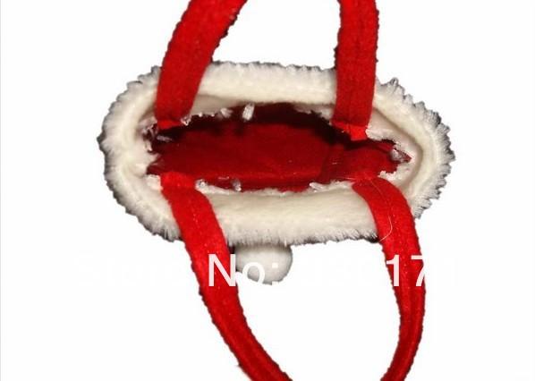 Новогодние украшение, сумки для подарков, 21 х 30 см, 10шт, красный цвет