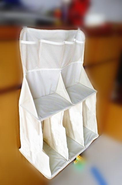 Подвесная сумка для детской кроватки, несколько отсеков, 63х48х25 см