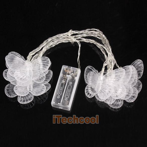 Светодиодные бабочки, 2,5 м