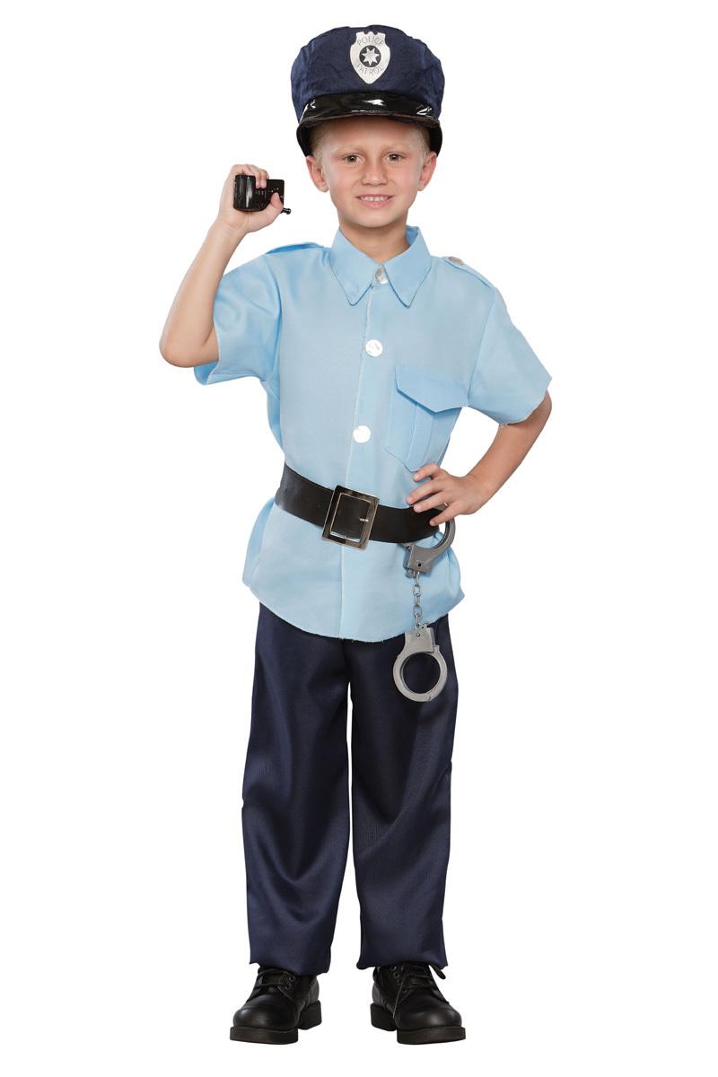 Детский карнавальный костюм полицейского