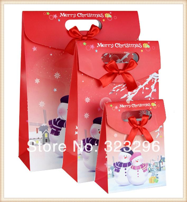 Комплект подарочных сумок, Рождество, свадьба, картон, 20шт