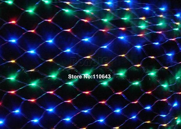 Декоративное, светодиодное освещение, 300-LED лампочек