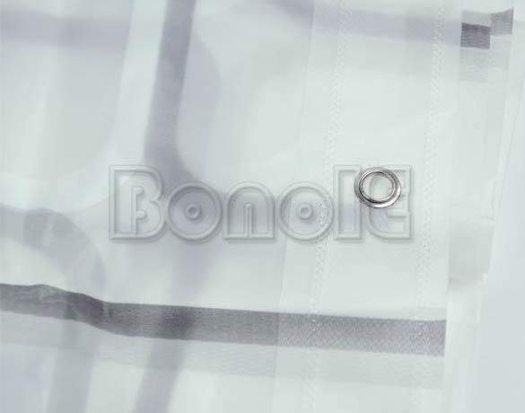 Душевая занавеска квадратная плитка 180х180