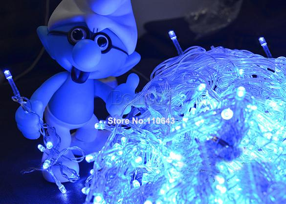 Праздничное, светодиодное украшение, 50M, 300-LED, 220V