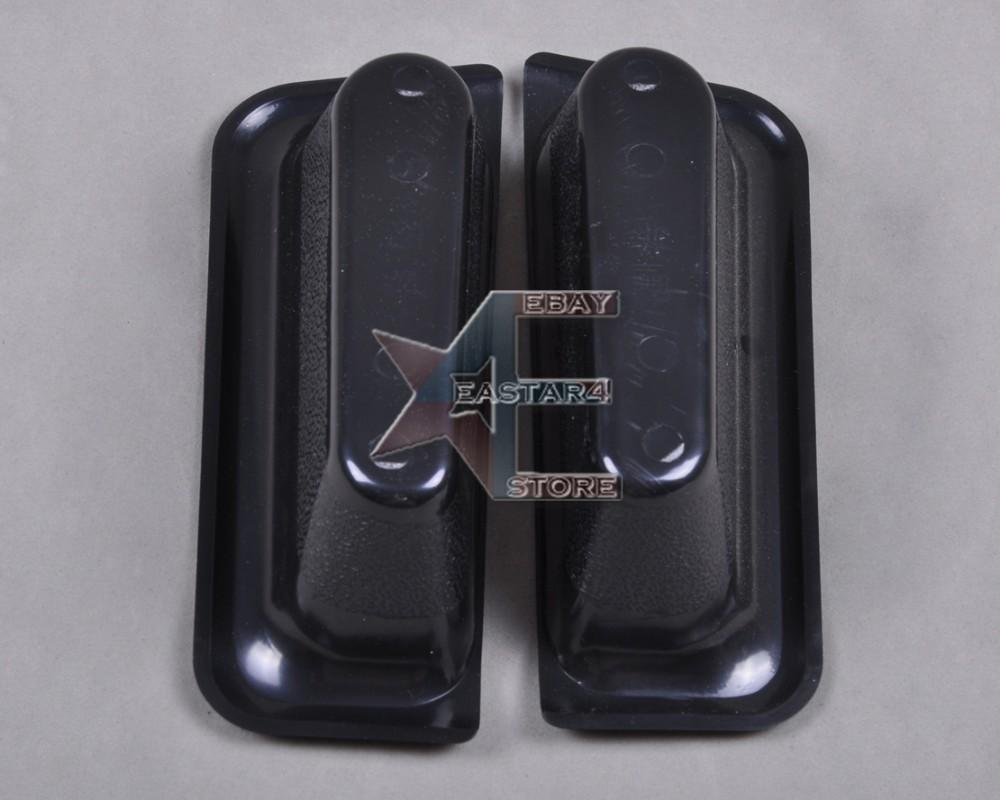 Боковые, дверные карманы для хранения, 2шт Л/П, Пластик для Ford Foucs 2005-2008, Черные