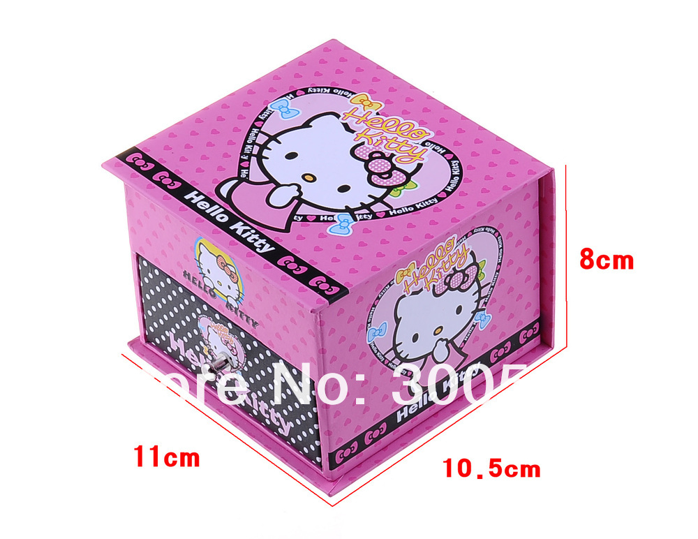 Шкатулка Hello Kitty для хранения ювелирных изделий
