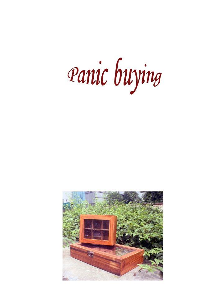 Ретро-древесный ящик для хранения