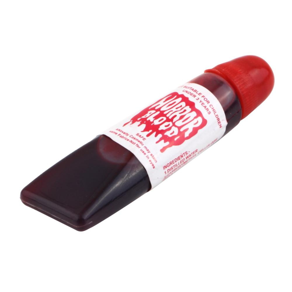 Тюбик с поддельной кровью