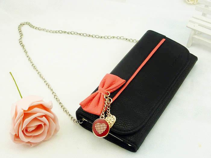 Женский кошелек с цепочкой