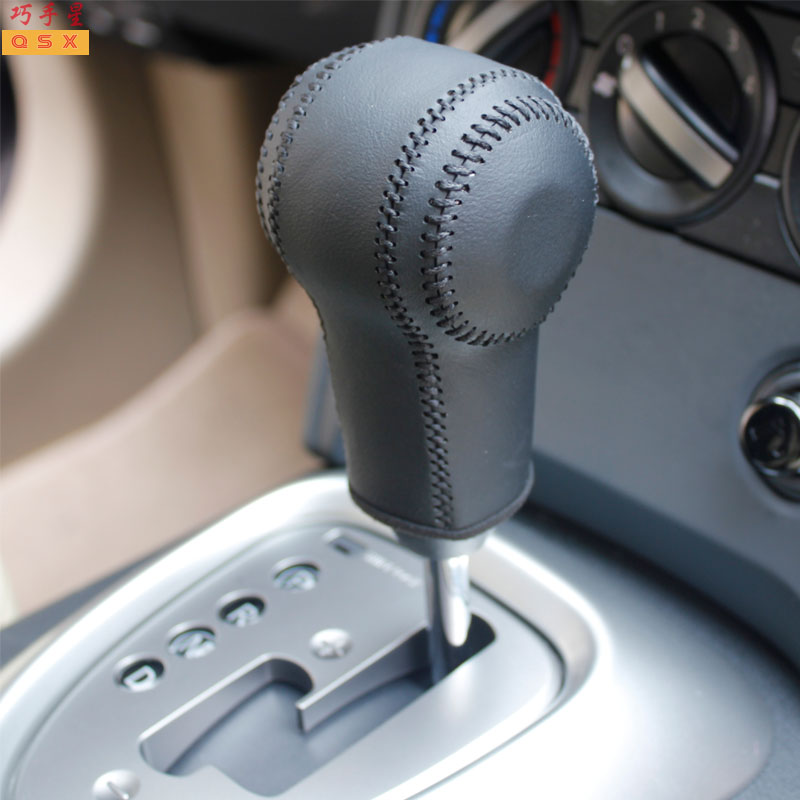 Кожаный чехол для ручки переключения автоматической коробки передач для Nissan QASHQAI X-TRAIL