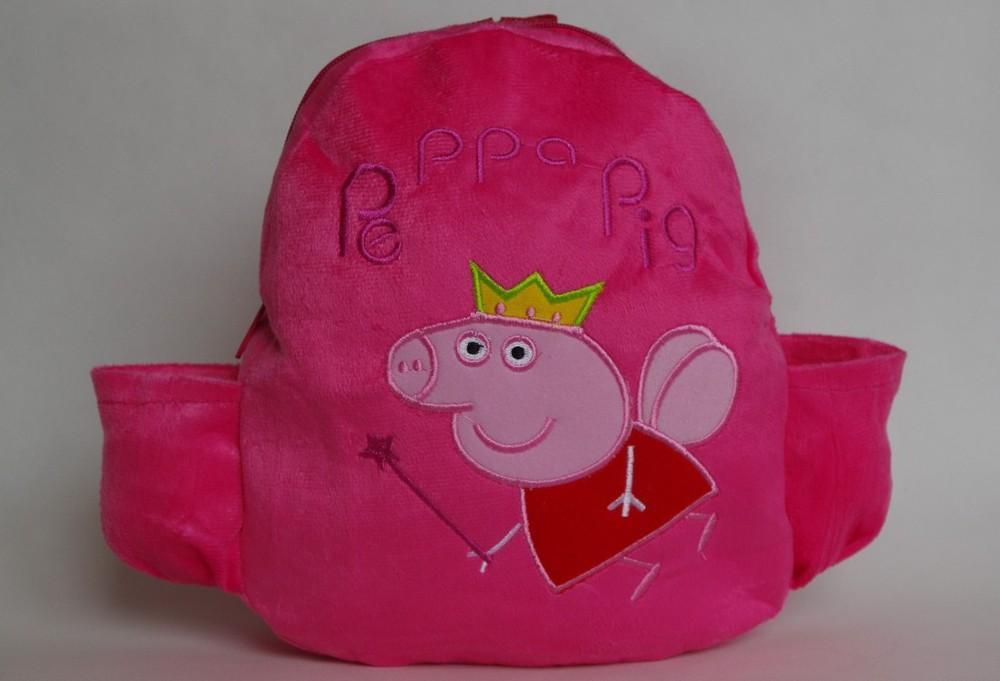 Школьная плюшевая сумка для девочек в виде с изображением