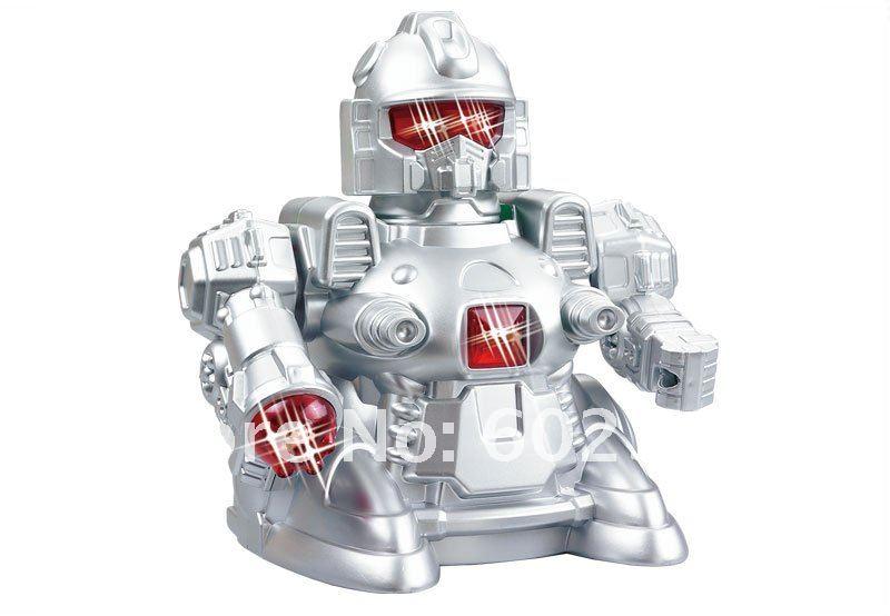 JIA QI TT389 - радиоуправляемый робот с ИК-пультом, светом и звуком