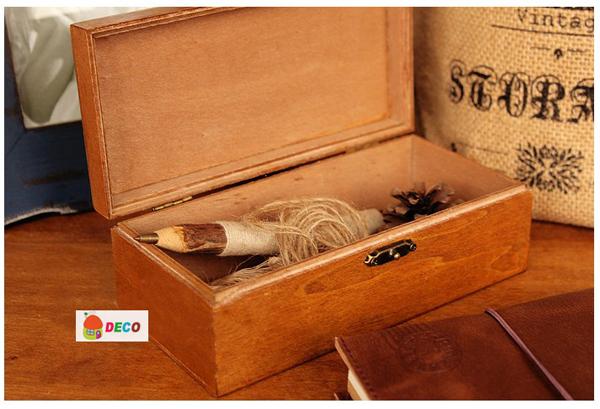 Набор из 6 деревянных шкатулок