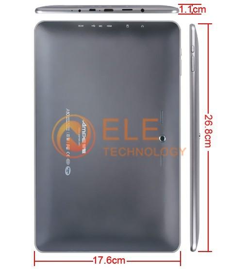 Ampe A10 - планшетный компьютер, Android 4.0.4, 10.1