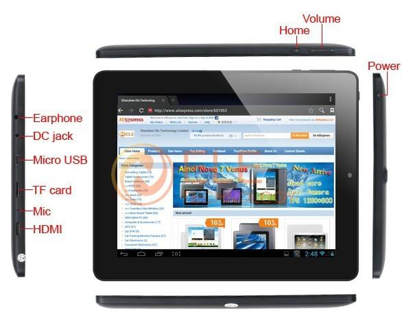 Ainol Novo 8 Dream - планшетный компьютер, Android 4.1.1, 8