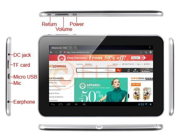 Ainol Novo 7 Rainbow - планшетный компьютер, Android 4.0.3, 7