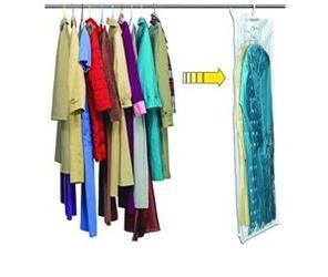 Вакуумный чехол для одежды с вешалкой, 105х70 см, 5 шт.