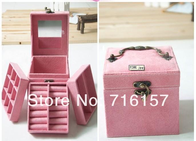 Шкатулка для украшений с несколькими отделениями, 12х12х12 см