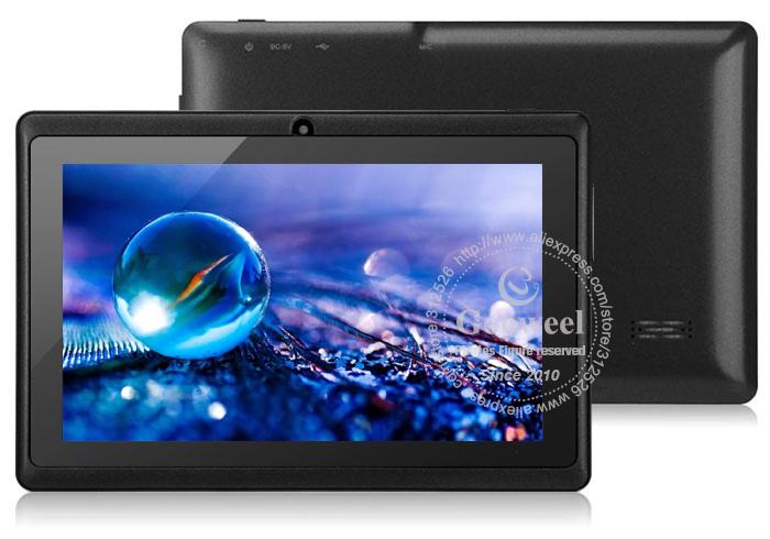 Gooweel Q88 - планшетный компьютер, Android 4.0, Allwinner A13 1.2GHz, 7.0