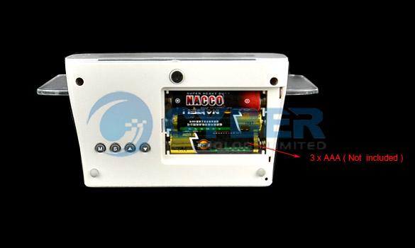 6012 - Часы с будильником и светодиодной панелью
