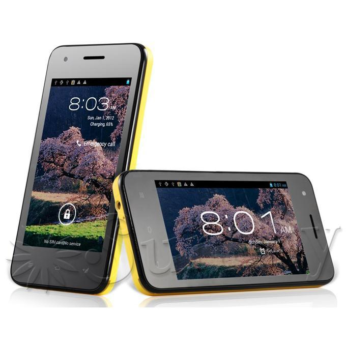 CUBOT GT72 Экран: 4.0 дюйма, Процессор MTK6572 2 ядра 1.2GHz, Камера: 2МП, Android 4.2.2