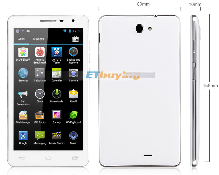 GT N7200 - смартфон, Android 4.2, MTK6589T Quad Core 1.2GHz, 6.0