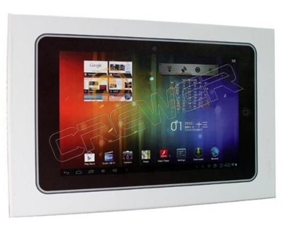 Flytouch 7/8 - планшетный компьютер, Android 4.0, Allwinner A10 Cortex A8 1.2GHz, 10.2