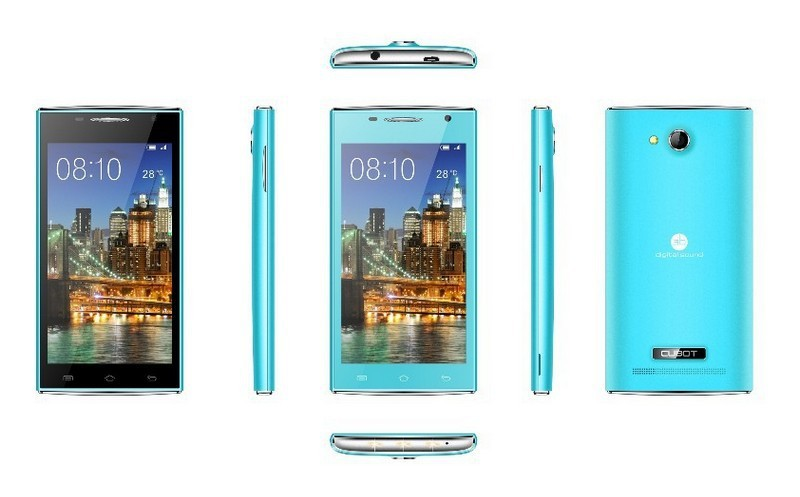 CUBOT C10  - смартфон, Android 4.1, MTK6517 dual core 1.0GHz, 4.5