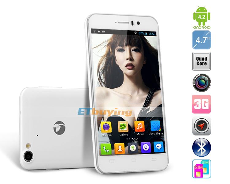 Jiayu G4t - смартфон, Android 4.2, MTK6589 Turbo Quad Core 1.5GHz, 4.7