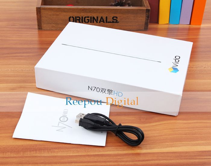 YuanDao N70HD - планшетный компьютер, Android 4.1, RK3066 1.6 GHz, 7