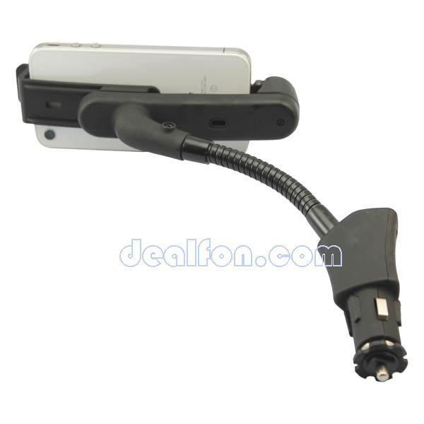 Автомобильный держатель и зарядное устройство для iPhone 4S/4/3GS/3G