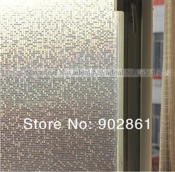 Стикер на окна в виде мозаики