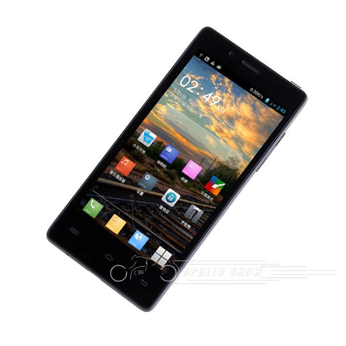 Xiaocai X9 Цвет: Белый, Процессор 1.2GHz MTK6589 4 Ядра, Объем памяти: 1G+4G, Экран 4.5 дюйма, Android 4.2.1