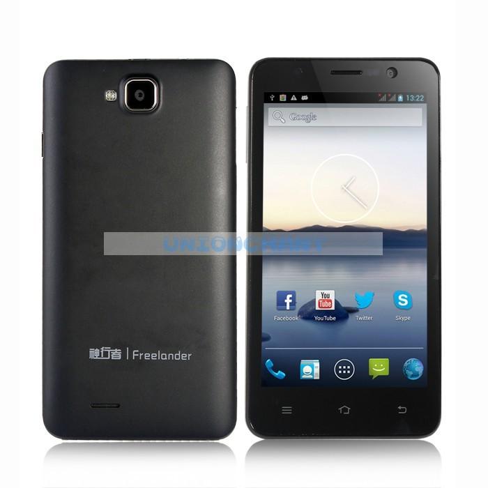Freelander i30- смартфон, Android 4.1, MTK6589 Cortex A9 Quad Core 1.2Ghz, 5.0