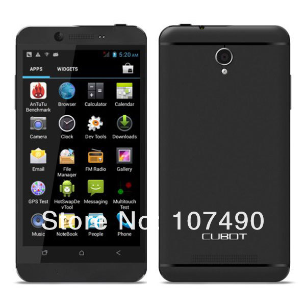 Cubot One Android 4.2, процессор Mtk6589 4 ядра, Экран: 4.7дюйма HD IPS, 1GB RAM 8GB ROM, Камера: 5MP+12MP, GPS, Bluetooth