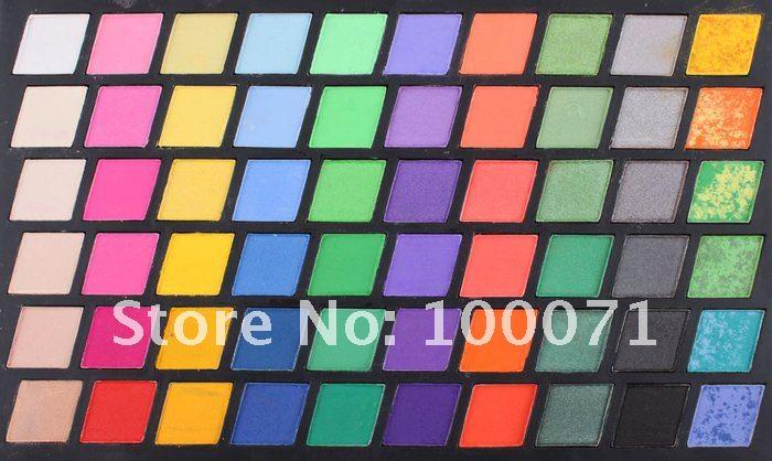 Палетка теней для век, 120 цветов