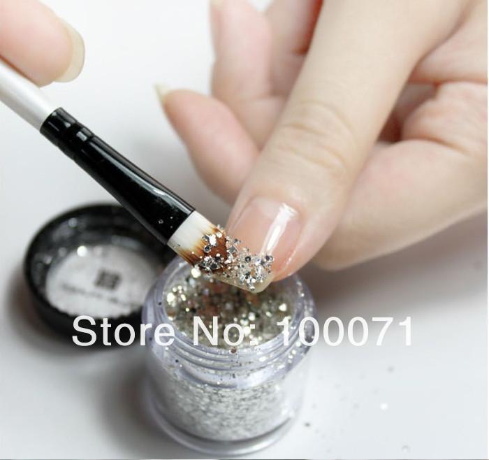 Набор для наращивания ногтей - УФ-лампа 9 W, акриловый гель