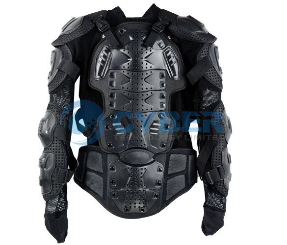 Костюм мотоциклиста размером XL с дополнительной защитой позвоночника и грудной клетки