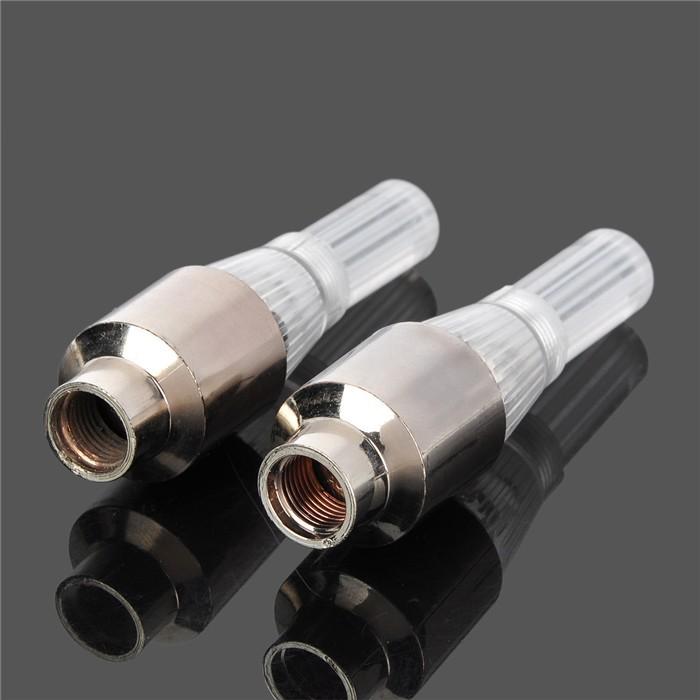 Светодиодный колпачок клапана закачки воздуха, 2шт, LED