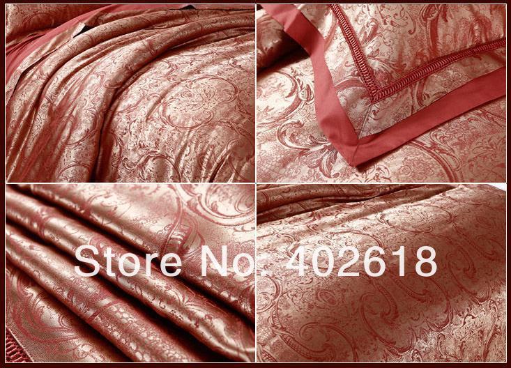 Постельное белье из жаккардовой ткани