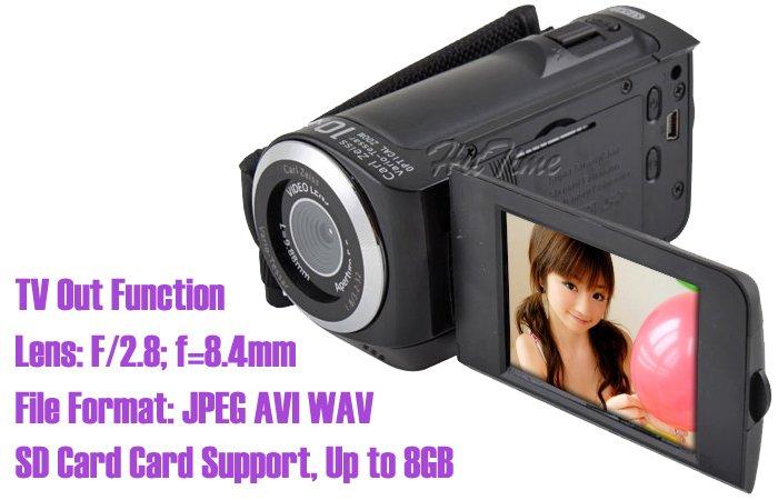 DV D40 - HD цифровая видеокамера, 2.4'' ЖК, 10X цифровое масштабирование
