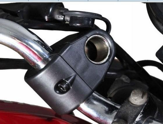 Гнездо прикуривателя для мотоцикла, влагозащитный корпус, восстанавливаемый предохранитель, 12 В, 10 А