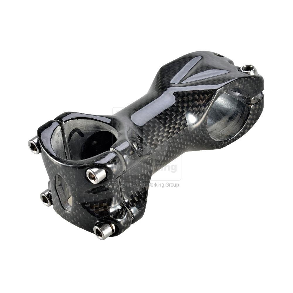 RST-ST-CA02 - Рулевой вынос для велосипеда, зажим/шток, 80мм x 31.8мм, карбон