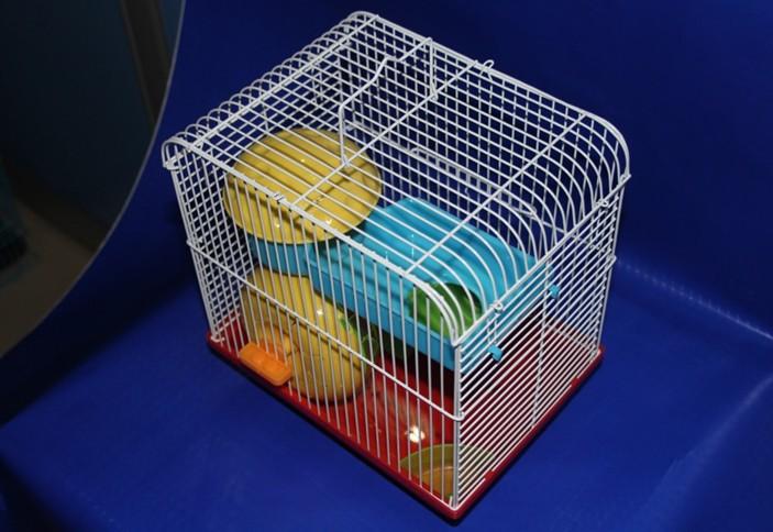 Двухуровневая клетка для хомяков, мышей, песчанок