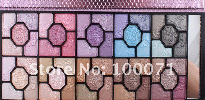 Набор теней для век, 100 цветов