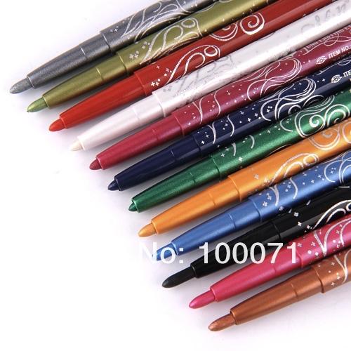 Набор карандашей для макияжа глаз и губ, 12 цветов