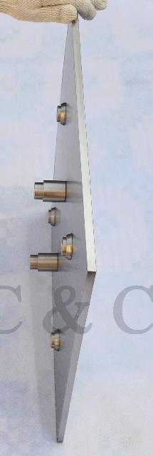 007-24 - комплект для установки верхнего душа