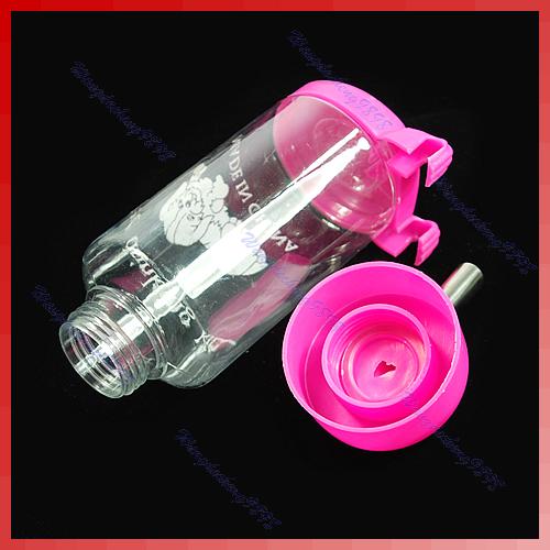 Бутылка для воды с металлической трубой