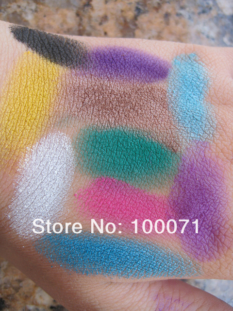 Hittime - Набор теней для век, 183 цвета, палетка румян в комплекте